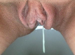 dripping wet from cunt
